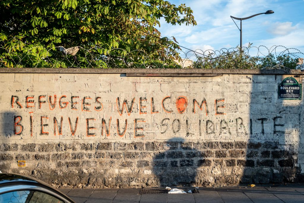 Crise migratoire - Paris