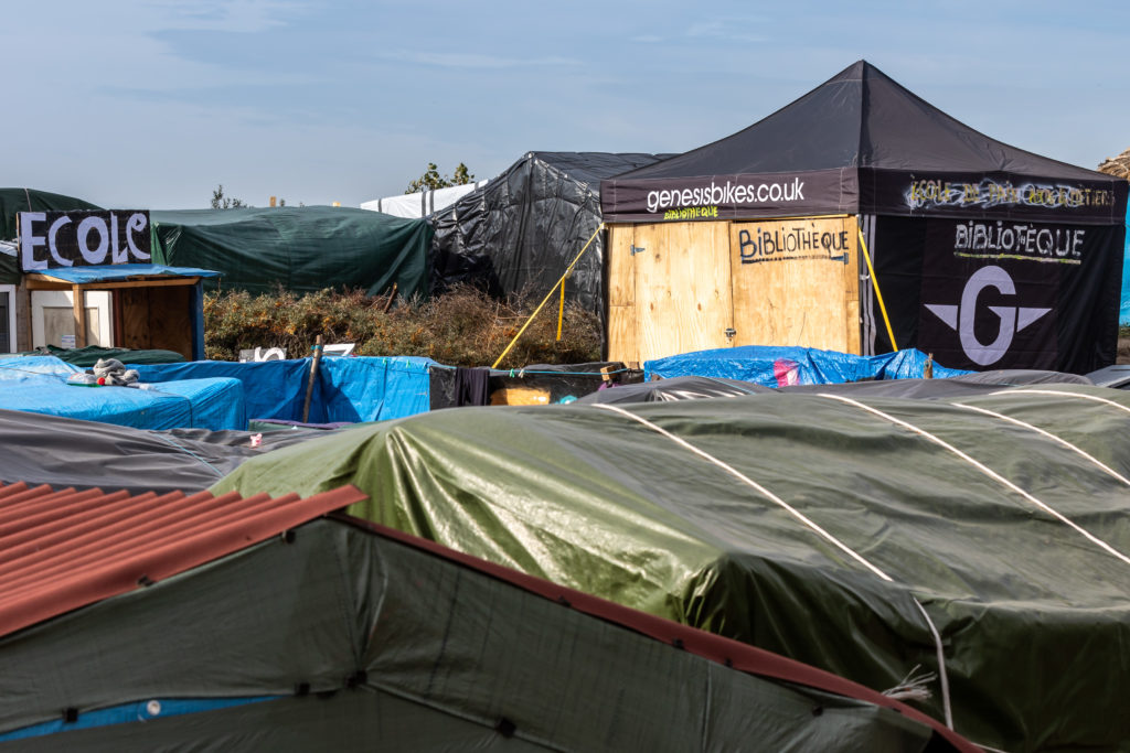 La jungle de Calais